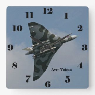 Bommenwerper van de Vleugel van Vulcan van Avro de Vierkante Klok