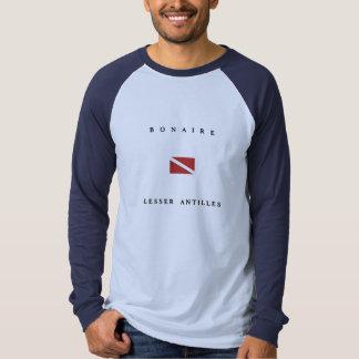 Bonaire Kleinere Scuba-uitrusting van Antillen T Shirt