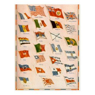 Bondgenoten WWI Briefkaart