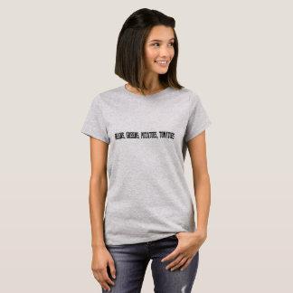 bonen, greens, aardappels, tomaten… T-shirt! T Shirt