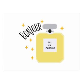 Bonjour Parfum Briefkaart