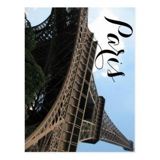 Bonjour van de Elegante Europese Reis van Parijs Briefkaart