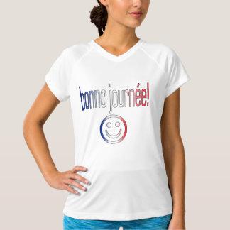 Bonne Journée! De Franse Kleuren van de Vlag T Shirt