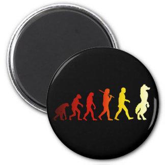 Bont evolutie magneet