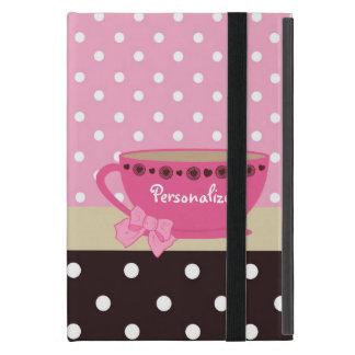 Boog en de Naam van de Stip van het Theekopje van  iPad Mini Covers