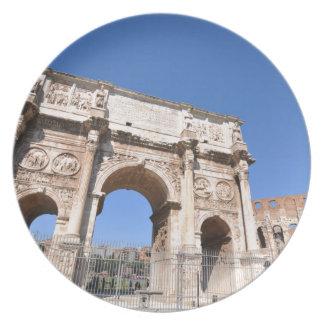 Boog in Rome, Italië Melamine+bord