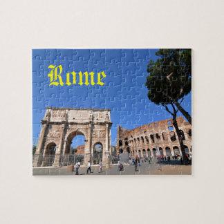 Boog in Rome, Italië Puzzel