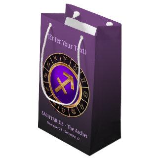 Boogschutter - het Symbool van de Horoscoop van de Klein Cadeauzakje