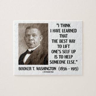 Booker T. Washington heft de Beste Manier Zijn Legpuzzel