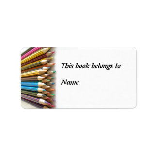Bookplate Etiket