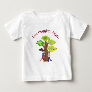 Boom die Veganist koesteren Baby T Shirts