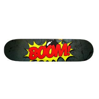 Boom - Grappig Teken/Skateboard 20,6 Cm Skateboard Deck