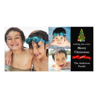 Boom/Lint 3 Kerstmis van Foto's - de Kaart van de