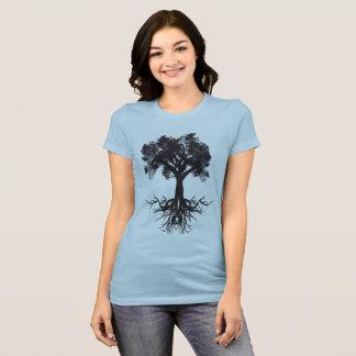 Boom van de Diepe Wortels van het Leven T Shirt