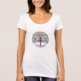 Boom van de lepel-Hals van het Leven Overhemd T Shirt