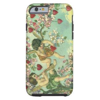 Boom van het Hart van de Cupido's van de vintage Tough iPhone 6 Hoesje