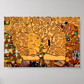 Boom van het Leven door Gustav Klimt Fine Art Poster