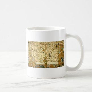 Boom van het Leven door Gustav Klimt Koffiemok