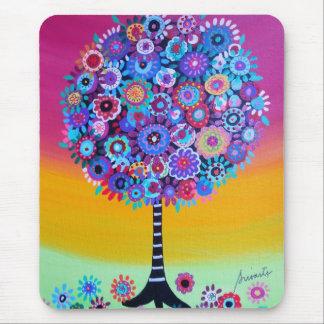 boom van het leven door prisarts muismatten