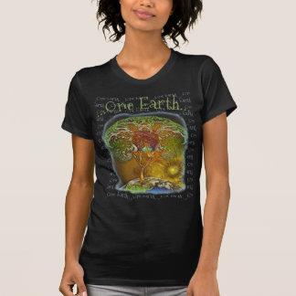 Boom van het Leven Één Aarde T Shirt
