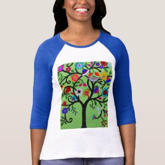 Boom van het Leven Judaica T Shirt