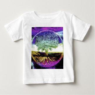 Boom van het Vreedzame Leven van het Leven Baby T Shirts