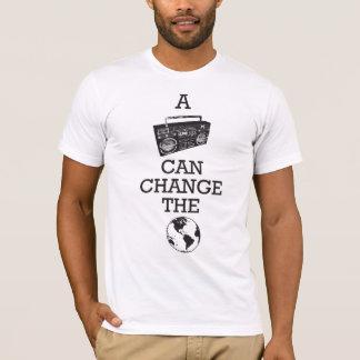 Boombox kan de Wereld veranderen T Shirt