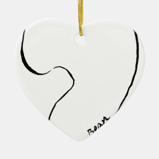 Boon Keramisch Hart Ornament