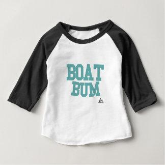 Boot-blauwgroen Baby T Shirts