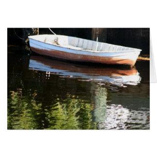 Boot in Water Briefkaarten 0