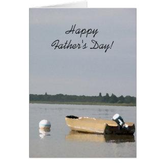 Boot op een Dag van de Vaders van het Meer Kaart