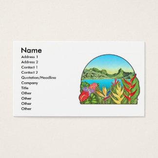 Bora Bora, Franse Polynesia Visitekaartjes