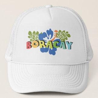 Boracay Filippijnen op de Tropische Bloemen van de Trucker Pet