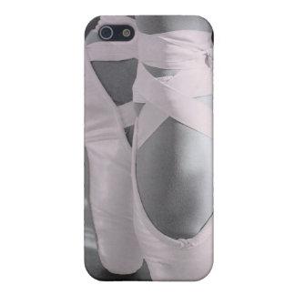 Bord - de roze Schoenen van het Ballet iPhone 5 Hoesje