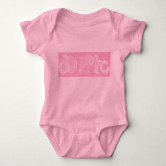 Bord - het roze Logo van het Alfabet van ABC voor Shirts