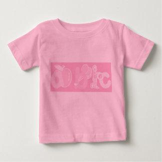 Bord - het roze Logo van het Alfabet van ABC voor T Shirts
