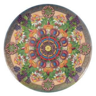 Bord van de Druiven van Mandala het Armeense