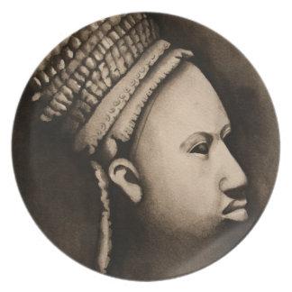 Bord van de Kunst van Ife het Afrikaanse