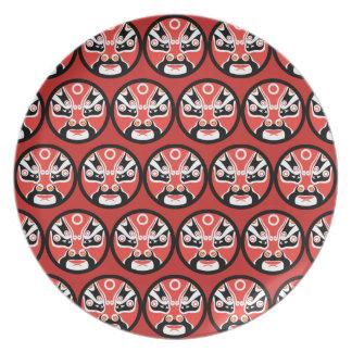 Bord van de Melamine van het Masker van Jitaku het