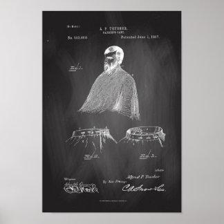 Bord van het Poster van het Octrooi van de Kaap