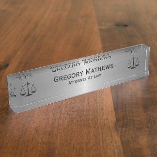 Borden van de Naam van het Bureau van de procureur