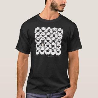 Border collie bij de Schapen T Shirt