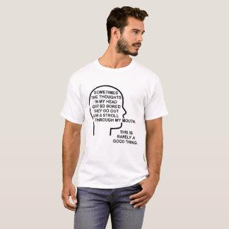 Bored Grappige T-shirt van Gedachten