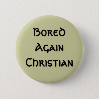 Bored opnieuw Christen Ronde Button 5,7 Cm