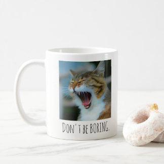 Boring de geen Mok van de Kat