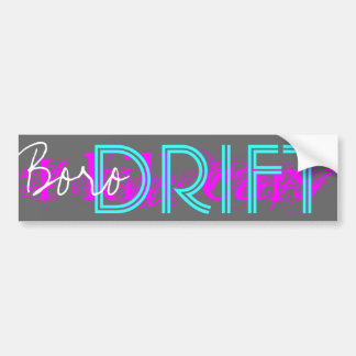 BORO DRIFT - Nacht Bumpersticker