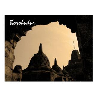 Borobudur Briefkaart