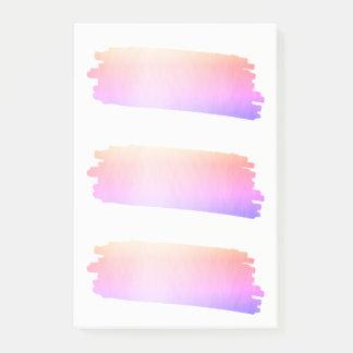 Borstel van de Waterverf van de Lavendel van de Post-it® Notes