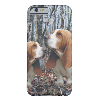 Bos Basset Hound Barely There iPhone 6 Hoesje