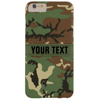Bos Gepersonaliseerde Camo Barely There iPhone 6 Plus Hoesje